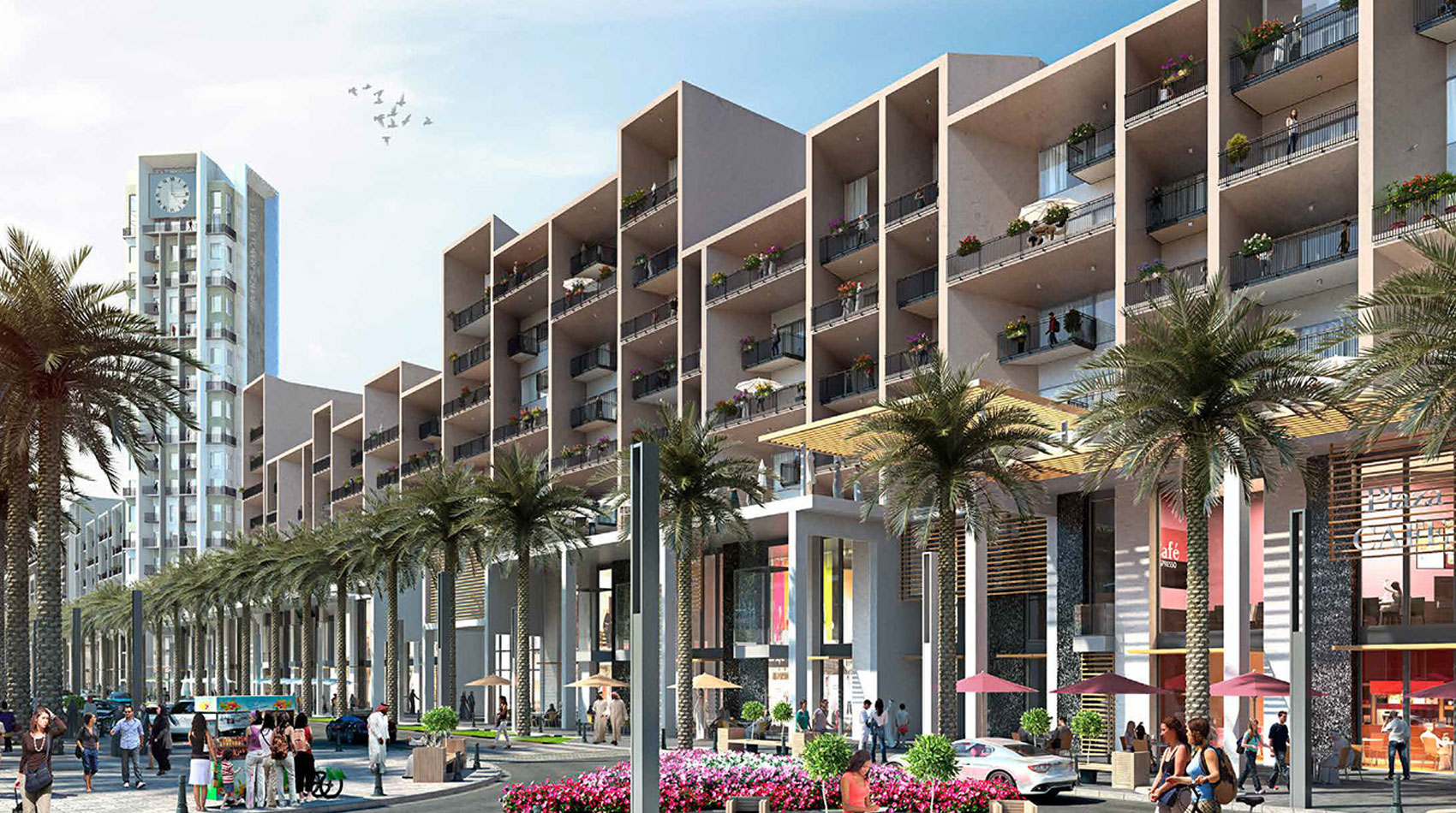 Nshama Warda Apartments at Town Square Dubai