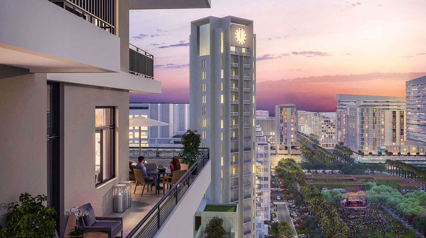 Nshama Parkside Rawda Apartments at Town Square Dubai